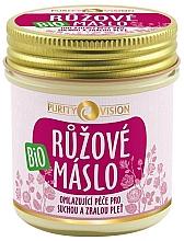 Kup Nawilżające różane masło do ciała - Purity Vision Bio
