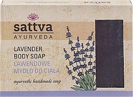 Kup Mydło w kostce do ciała Lawenda - Sattva Ayurveda Lavender Body Soap