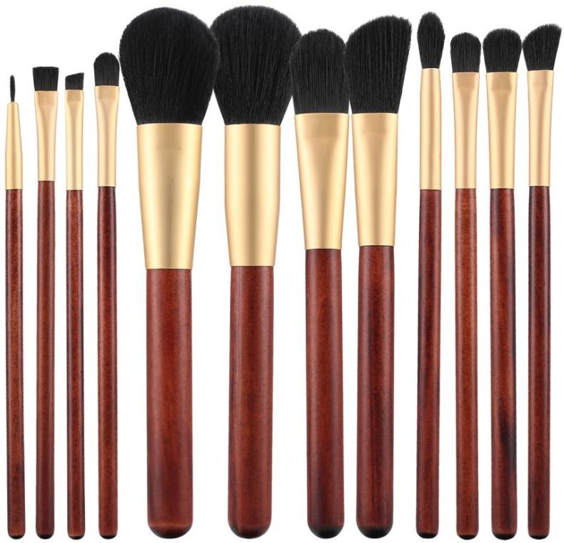 Zestaw pędzli do makijażu, 12 szt. - Tools For Beauty