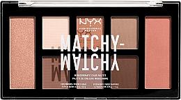 Kup Paleta do makijażu twarzy - NYX Professional Makeup Matchy Matchy Palette