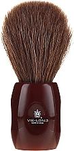 Kup Pędzel do golenia 12705 - Vie-Long Peleon Horse Hair Shaving Brush Red Handle