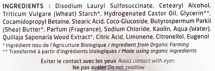 Szampon przeciwłupieżowy w kostce z glinką białą - Secrets de Provence My Shampoo Organic Anti-Dandruff Solid Vegan Shampoo — фото N4