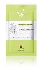 Kup Maska w płachcie do cery problematycznej - Leaders Tea Tree Relaxing Skin Renewal Mask