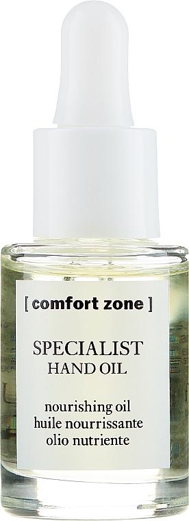 Odżywczy olejek do rąk i paznokci - Comfort Zone Specialist Hand Oil — фото N2
