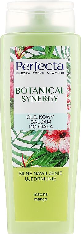 Olejkowy balsam do ciała Silne nawilżenie i ujędrnienie - Perfecta Botanical Synergy