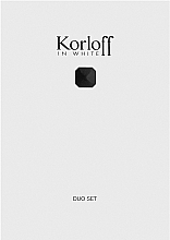 Kup Korloff Paris Korloff In White - Zestaw (edt 80 ml + sh/gel 150 ml)