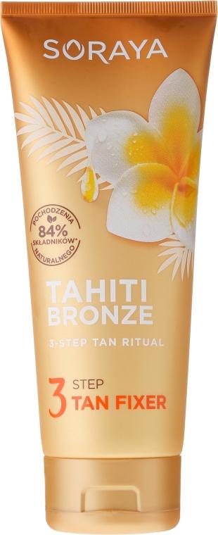 Balsam do ciała utrwalający opaleniznę - Soraya Tahiti Bronze 3 Step Tan Fixer — фото N1