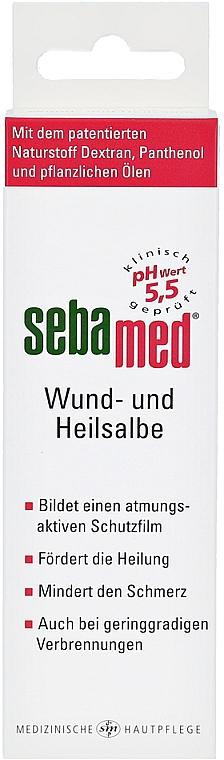 Maść wspomagająca gojenie się ran - Sebamed Wund- und Heilsalbe — фото N3