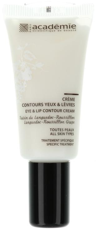 Przeciwzmarszczkowy krem do okolic oczu i ust - Académie Eye & Lip Contour Cream