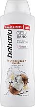 Kup Perfumowany żel pod prysznic - Babaria Coconut Milk & Vanilla Shower Gel