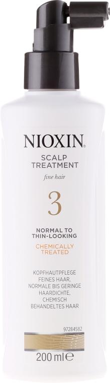 Odżywcza kuracja do włosów - Nioxin Thinning Hair System 3 Scalp Treatment — фото N2