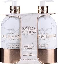 Kup Zestaw prezentowy - Baylis & Harding White Tea & Neroli Hand Care Set (soap 500 ml + h/b/lotion 500 ml)