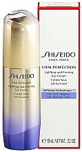 Kup Przeciwstarzeniowy krem pod oczy - Shiseido Vital Perfection Uplifting And Firming Eye Cream