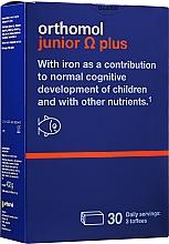 Kup Witaminy dla dzieci w żelkach o smaku toffi - Orthomol Junior Omega Plus