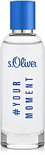 Kup S.Oliver #Your Moment - Woda toaletowa dla mężczyzn