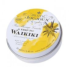 Kup Świeca do masażu Kokos i ananas - Petits JouJoux Mini A Trip To Waikiki