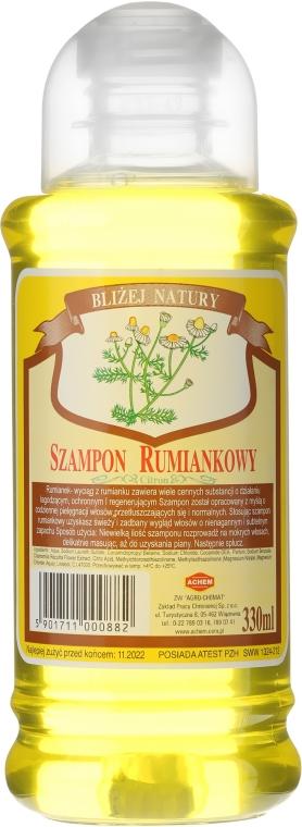 Rumiankowy szampon do włosów normalnych i przetłuszczających się - Achem