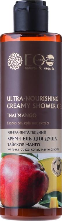 Ultraodżywczy kremowy żel pod prysznic Tajskie mango - ECO Laboratorie