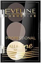 Kup Profesjonalny zestaw do makijażu i stylizacji brwi - Eveline Cosmetics Professional All in One