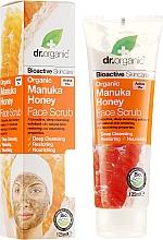 Kup Peeling do twarzy Organiczny miód manuka - Dr. Organic Manuka Honey Face Scrub
