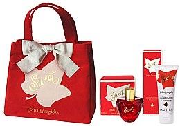 Kup Lolita Lempicka Sweet - Zestaw (edp 50 ml + b/lot 75 ml + bag)