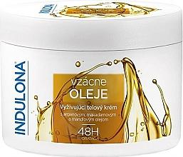 Kup Odżywczy krem do ciała z olejkami - Indulona Nourishing Body Cream With Rare Oils