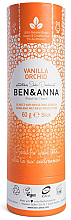 Kup Dezodorant na bazie sody w sztyfcie Wanilia i orchidea (tubka) - Ben & Anna Natural Soda Deodorant Paper Tube Vanilla Orchid