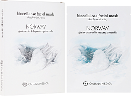 Kup PRZECENA! Maseczka w płachcie z bionanocelulozy do twarzy głęboko nawilżająca - Calluna Medica Norway *