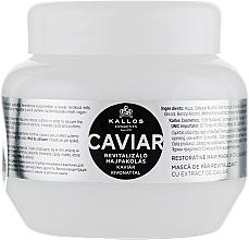 Kup PRZECENA! Rewitalizująca maska do włosów z ekstraktem z kawioru - Kallos Cosmetics Caviar Restorative Hair Mask *
