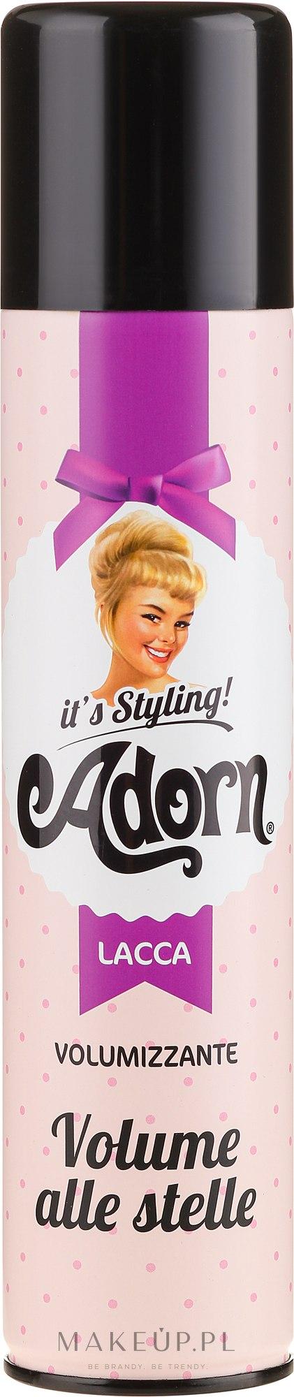Lakier dodający włosom objętości - Adorn It's Styling Volumizing Hair Spray — фото 250 ml