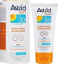 Krem przeciwsłoneczny do twarzy z koenzymem Q10 SPF 30 - Astrid Sun Protecting Face Cream — фото N2