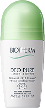 Kup Dezodorant ochronny w kulce - Biotherm Deo Pure Natural Protect 24 Hour