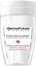 Płyn micelarny do demakijażu twarzy i oczu - DermoFuture Micellar Make-Up Liquid — фото N1
