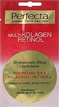 Kup Maska na twarz, szyję i dekolt Podwójna siła kolagenu i retinolu - Perfecta Multi-Kolagen Retinol