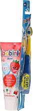 Kup Zestaw do zębów dla dzieci 1–6 lat: pasta + szczoteczka - Bobini (t/brush + t/paste 75 ml)