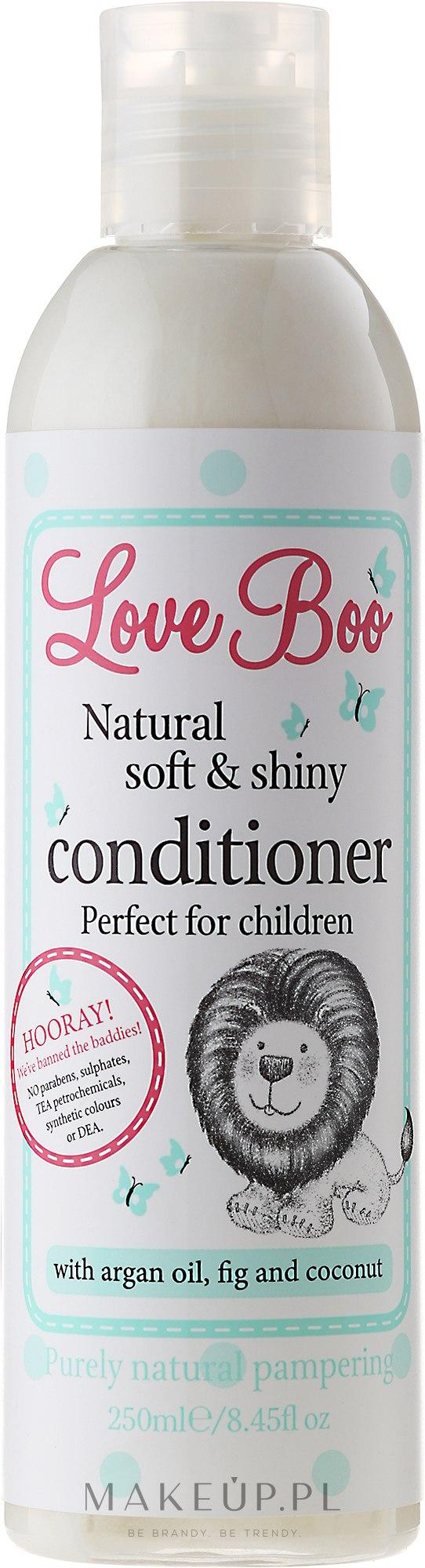 Naturalna delikatna odżywka do włosów dla dzieci - Love Boo Natural Soft And Shiny — фото 250 ml