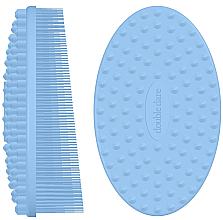 Kup Silikonowa szczoteczka do masażu, niebieska - Double Dare I.M. Buddy Pastel Blue