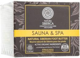 Kup Naturalne syberyjskie masło do stóp Sauna & Spa - Natura Siberica