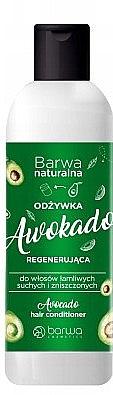 Regenerująca odżywka do wlosów Awokado - Barwa Avocado Hair Conditioner