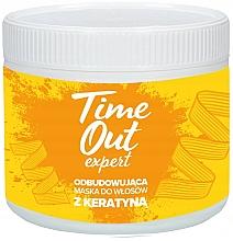 Kup Odbudowująca maska do włosów z keratyną - Time Out