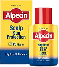 Kup Nawilżający olejek-serum do skóry głowy z kofeiną SPF 15 - Alpecin Scalp Sun Protection Liquid With Caffeine