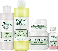 Kup Zestaw - Mario Badescu Acne Control Kit (lot 29 ml + cr 14 g + mask 56 g + cleanser 177 ml + lot 236 ml)