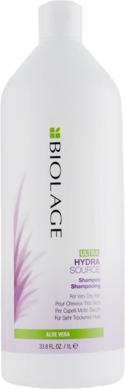 Nawilżający szampon do włosów bardzo suchych - Biolage Ultra Hydrasource Shampoo — фото N3