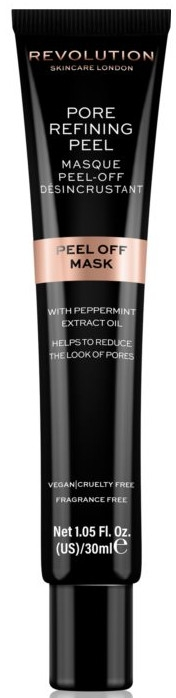 Żelowa maseczka do twarzy na rozszerzone pory - Revolution Skincare Pore Refining Peel Off Mask — фото N1