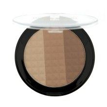 Bronzer do twarzy - Makeup Revolution Ultra Bronze, Shimmer and Highlight — фото N2
