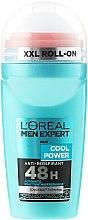 Kup Antyperspirant w kulce dla mężczyzn - L'Oreal Paris Men Expert Cool Power 48h Anti-Perspirant Roll-on