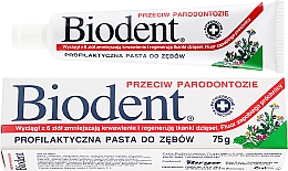 Kup Profilaktyczna pasta do zębów przeciw paradontozie - Biodent