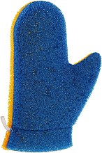 Kup Rękawiczka do masażu Aqua, 6021, niebiesko-żółta - Donegal Aqua Massage Glove