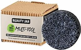 Kup Szampon w kostce dla mężczyzn do włosów, ciała i brody - Beauty Jar Multi-Tool Men Shampoo Bar For Hair, Body & Beard