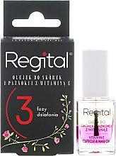 Kup Trójfazowy olejek do skórek i paznokci z witaminą E - Regital Three-Phase Cuticle And Nail Oil